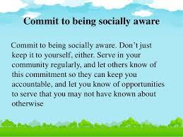 socially aware