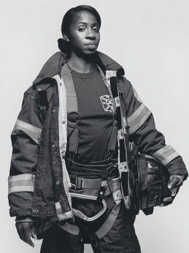 female fireman