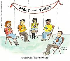 Anti-social-networking